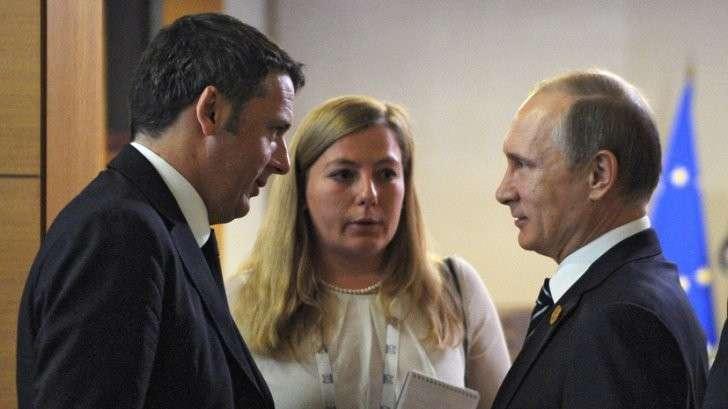 Пресс-конференция Владимира Путина и Маттео Ренци — прямая трансляция
