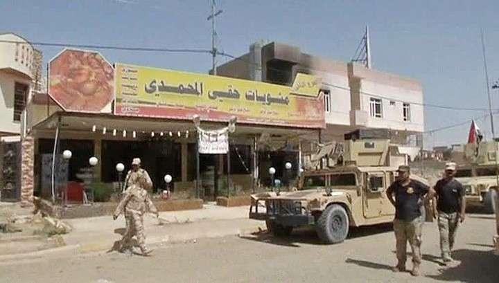 Иракские военные зачищают Эль-Фаллуджу