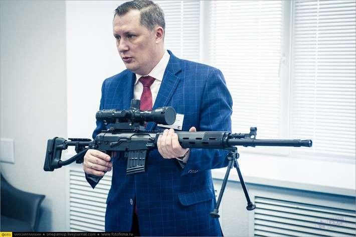 Российские военные начали получать новейшие винтовки СВДМ
