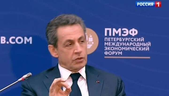 Профессиональный лжец Саркози рассказал о судьбе Украины