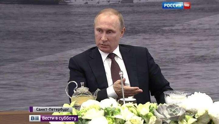 Владимир Путин о ПРО: Запад нас обманывает