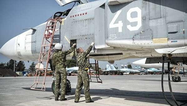 Российские военнослужащие на авиабазе Хмеймим. Архивное фото