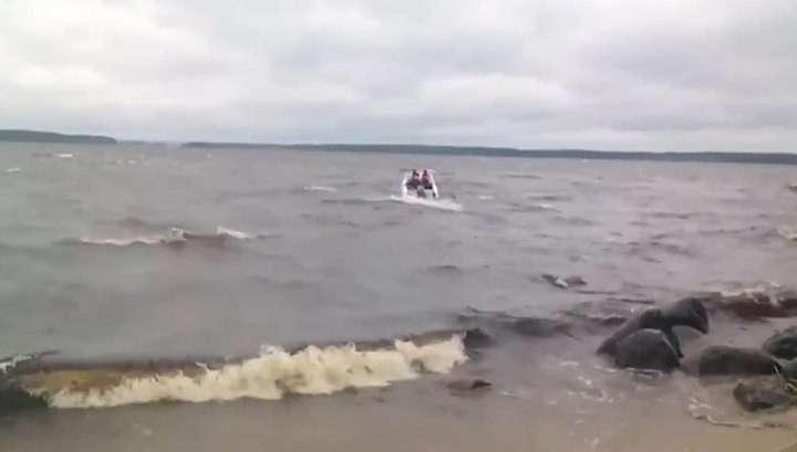 Росгидромет: на озере, где погибли 13 детей, был не шторм, а дождик