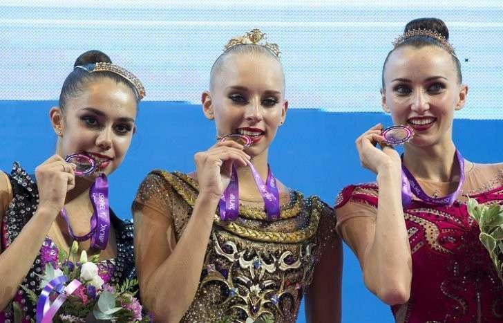 Триумф сборной России по художественной гимнастике на предолимпийском чемпионате Европы