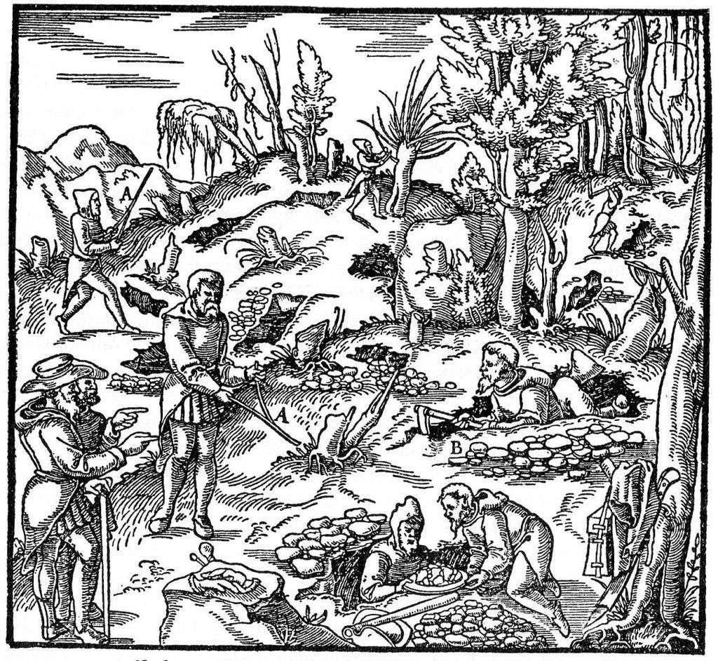 Лозоходство - одна из важнейших профессий наших предков
