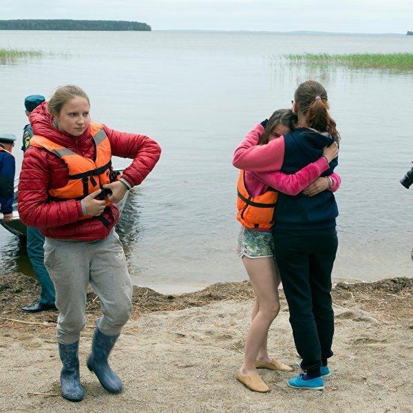 Трагедия в Карелии: дети предлагали инструкторам отменить поход на лодках