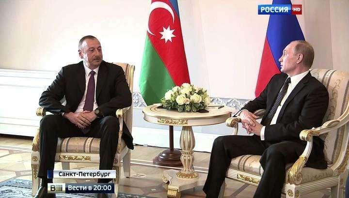 Результативные переговоры: Владимир Путин встретился с лидерами Азербайджана и Армении