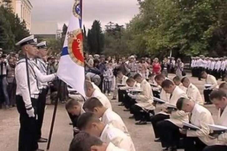 Лучшие из Севастополя: 15 выпускников Нахимовского училища получили лейтенантские погоны