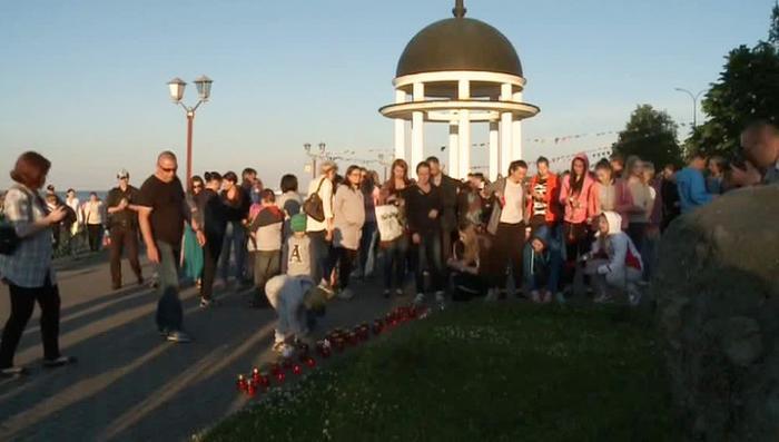 В Петрозаводске почтили память погибших детей