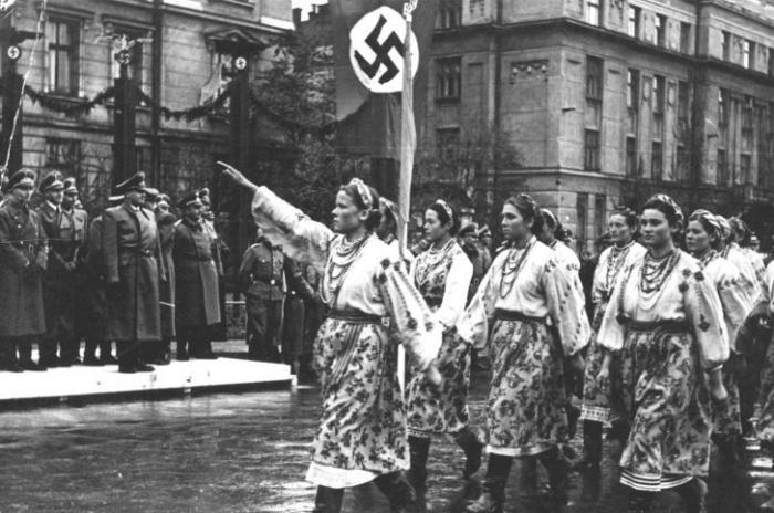 Украина – сельская пародия на нацизм