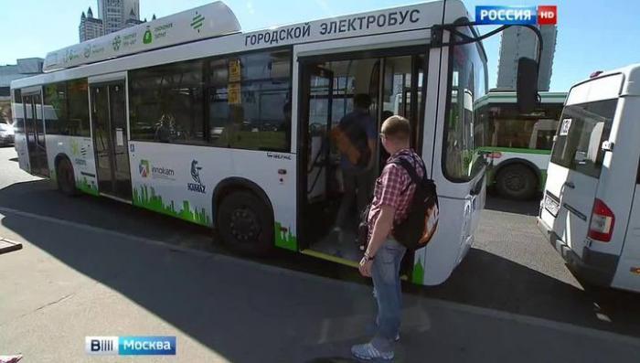 В Москве тестируют первый отечественный электробус