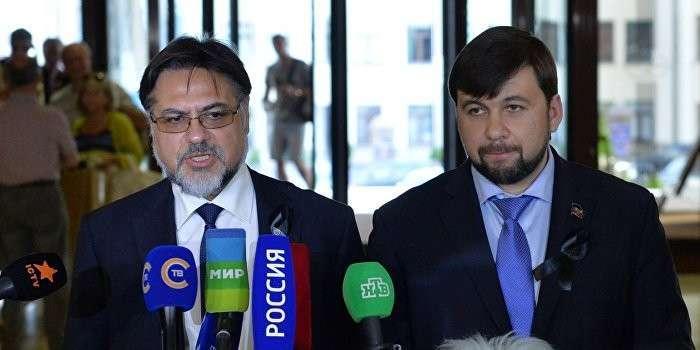 ДНР и ЛНР не признают законы Украины, не согласованные с Донбассом