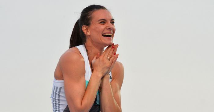 Елена Исинбаева стала чемпионкой России с рекордом сезона в мире