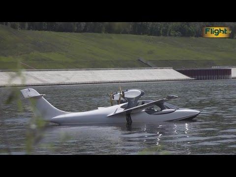 В Самаре начали лётные испытания нового самолёта-амфибии АСК-62