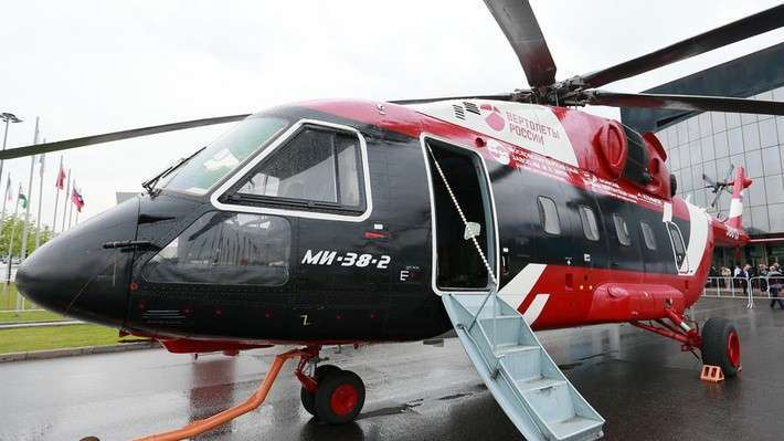 Российские вертолёты избавились от украинских двигателей