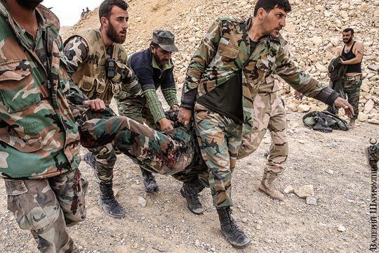 Безалаберность командования привела сирийскую армию к тяжелому поражению