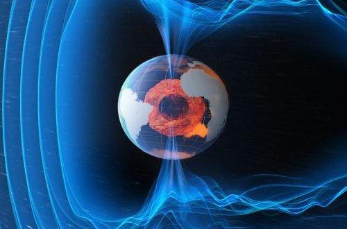 Спутники Swarm составили полную карту изменений магнитного поля Земли