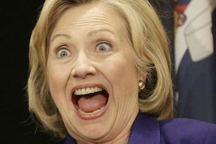 Who is мадам Клинтон?