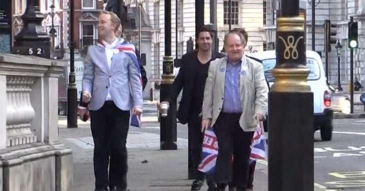 Грэм Филлипс приветствовал итоги референдума фразой «Великобритания наш!»