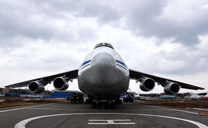 Транспортный самолет Ан-124 «Руслан»