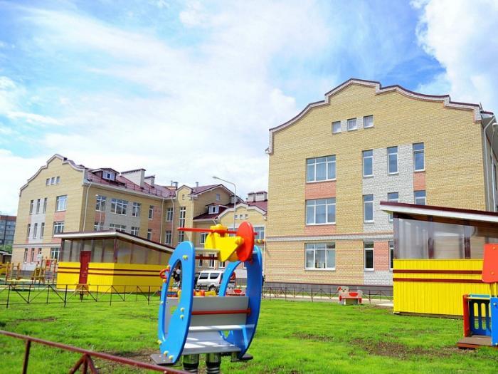 В Вологде открыли новый детский сад