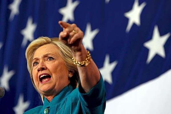 Старуха Клинтон – возможно, самая коррумпированная из всех, когда-либо выдвигавшихся в президенты США