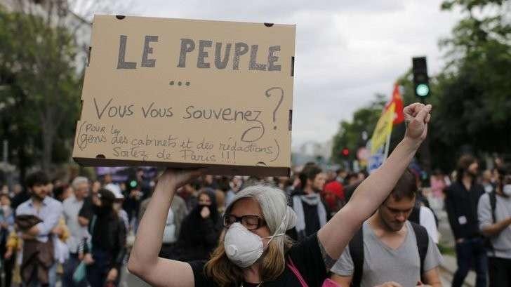 Протесты в Париже — прямая трансляция
