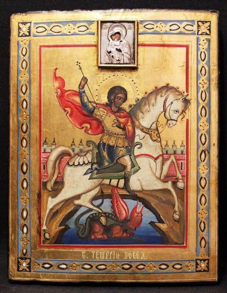 Георгий победоносец - икона