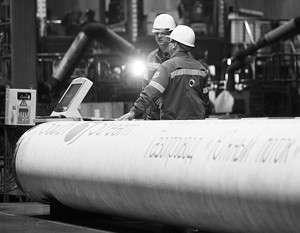 Газ по «Южному потоку» пойдёт в 2015 году