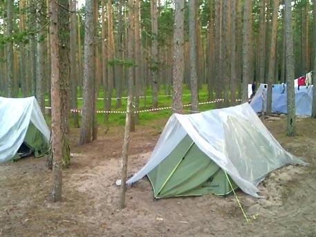 Первые кадры из эвакуированного лагеря «Пересвет» в Ленобласти