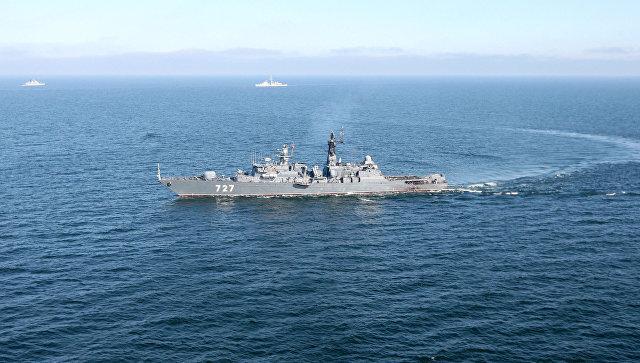 США опять жалуются о приближении «Ярослава Мудрого» к крейсеру «Сан Хасинто»