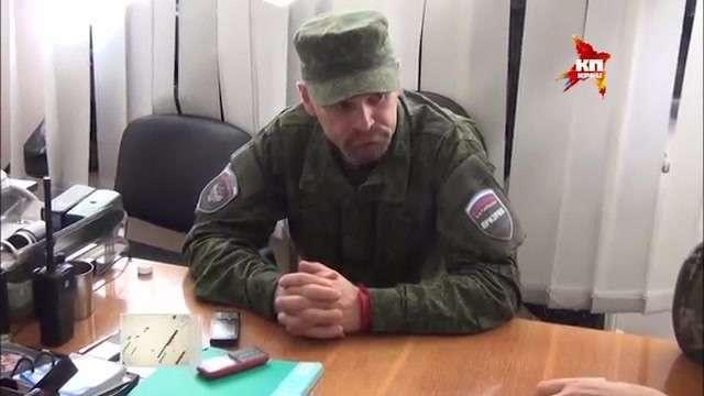 Лидер луганского ополчения Алексей Мозговой «С той стороны наши враги, их нужно уничтожать»