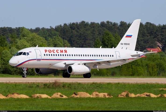 Второй Суперджет для СЛО «Россия» передан заказчику