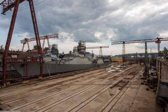 Так рождаются корабли в Зеленодольске