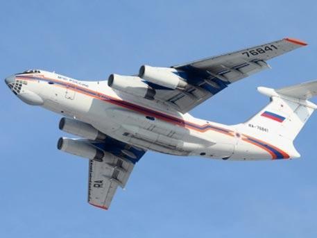 Ил-76 МЧС РФ пропал в Иркутской области
