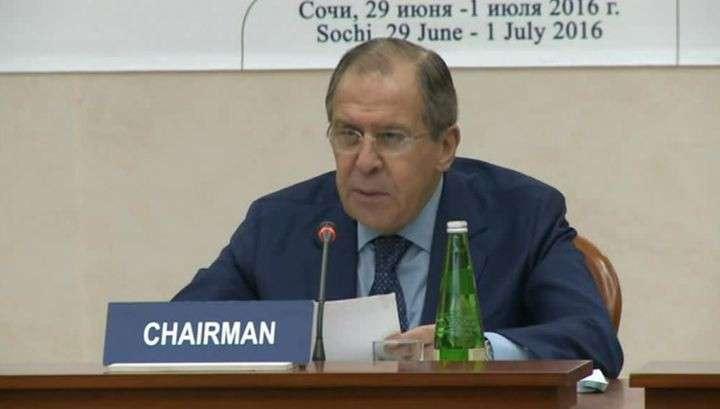Сергей Лавров: необходимо наращивать взаимодействие в рамках ОЧЭС