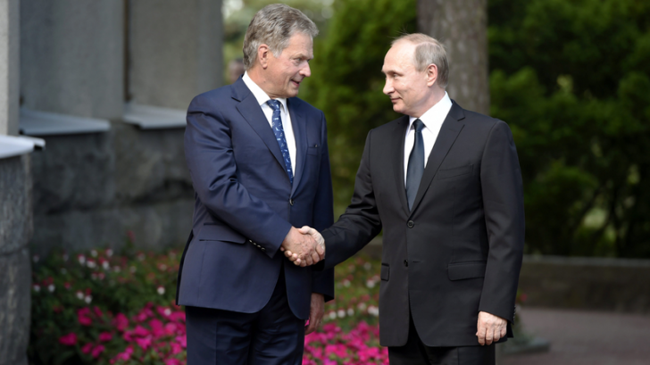 Пресс-конференция Владимира Путина и президента Финляндии — прямая трансляция
