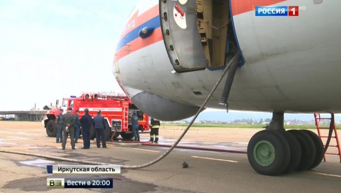 ЧП в иркутском небе: искать «водяной бомбардировщик» мешает сильное задымление