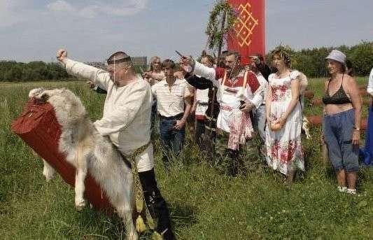В Белоруссии американские фонды напрямую финансируют организации неоязычников