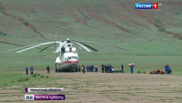Очевидцы: двигатель Ил-76 затих после хлопка