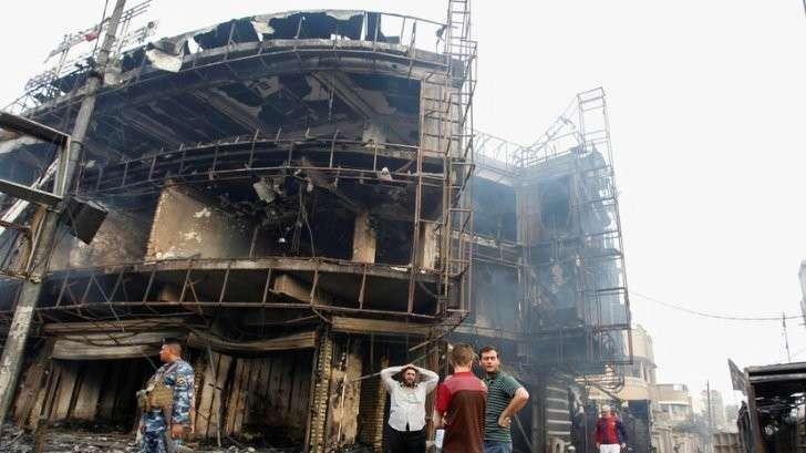 Более 80 человек погибли в результате серии терактов в Багдаде