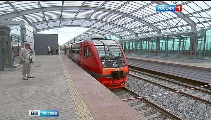 На МКЖД запущено движение поездов в тестовом режиме