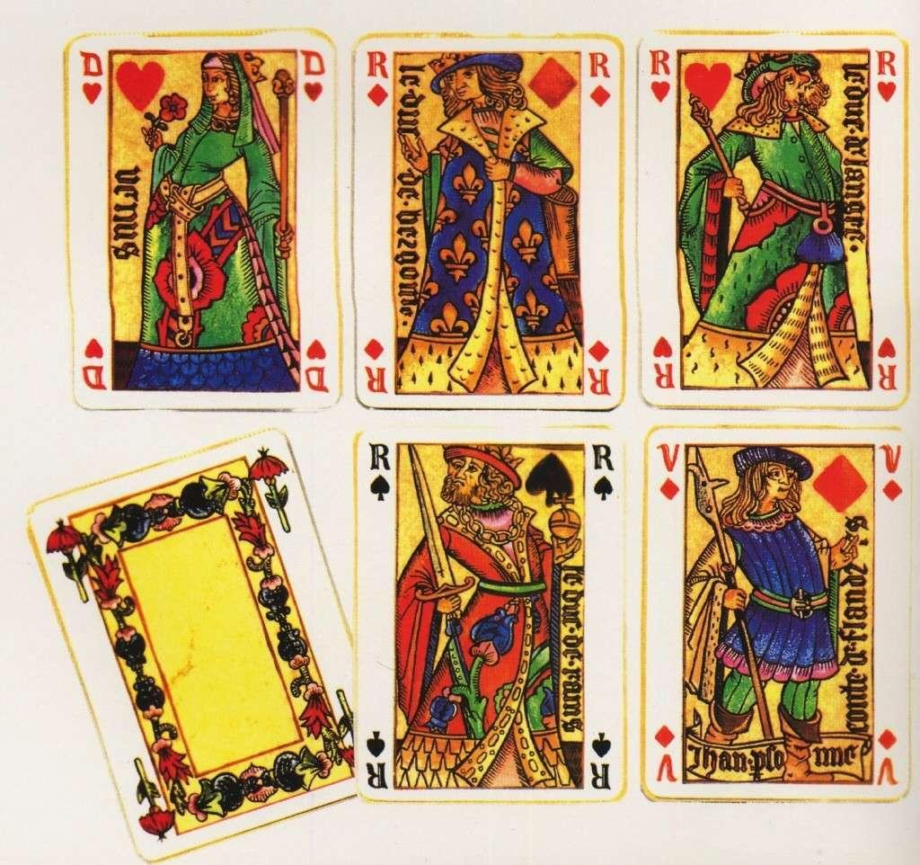 Откуда пошли игральные карты
