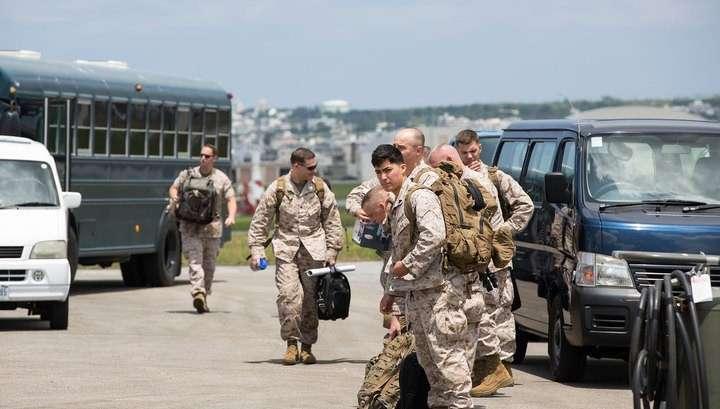 Американских солдат на Окинаве лишат привилегий