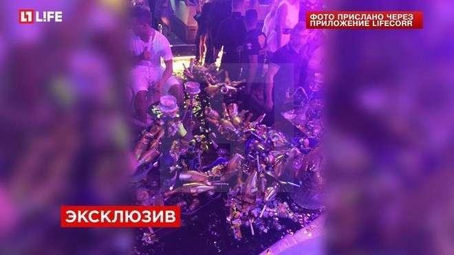 Мамаев и Кокорин за ночь потратили на шампанское в Монте-Карло 250 тысяч евро