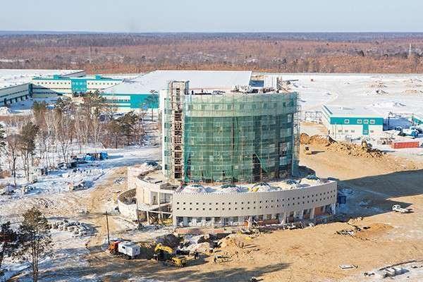 Новости строительства космодрома «Восточный»