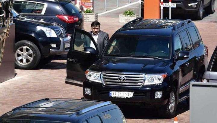 Вор в законе Гуга угнал внедорожник Саакашвили
