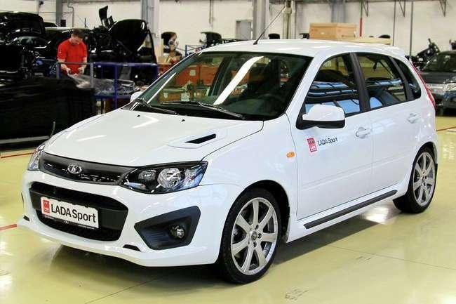 АВТОВАЗ представил две новые модификации автомобиля Lada Kalina Sport