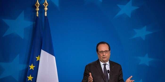 Олланд отказался считать Россию угрозой