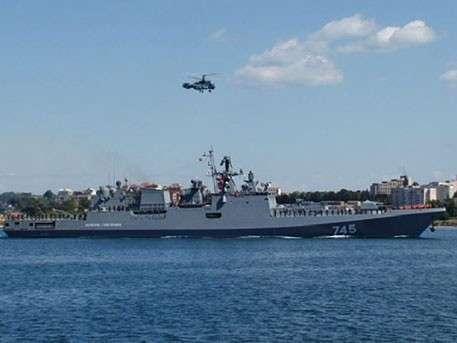 Иностранные СМИ посетили фрегат «Адмирал Григорович» в Севастополе